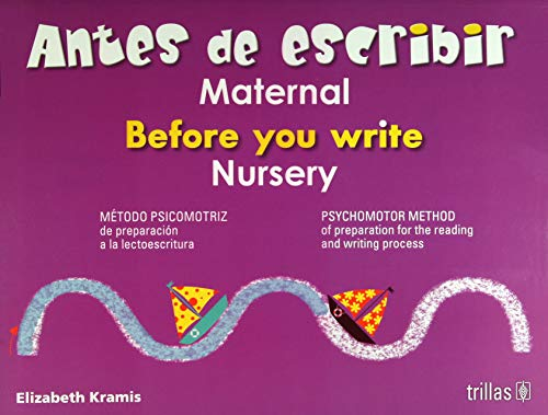 ANTES DE ESCRIBIR, MATERNAL = BEFORE YOU: KRAMIS VAZQUEZ, ELIZABETH