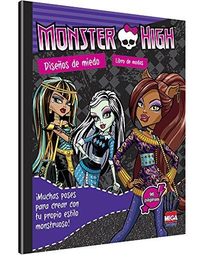 9786072105461: Monster High Diseños de Miedo