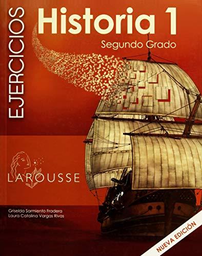 9786072106956: HISTORIA 1 CUADERNO DE EJERCICIOS SEGUNDO GRADO. SECUNDARIA