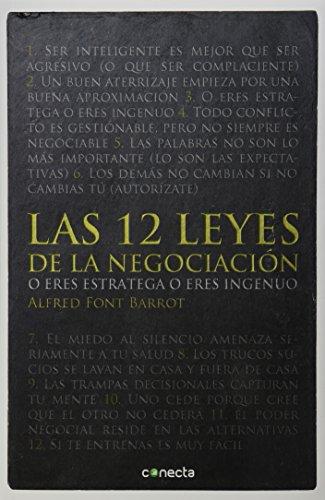 9786073123259: 12 LEYES DE LA NEGOCIACION, LAS