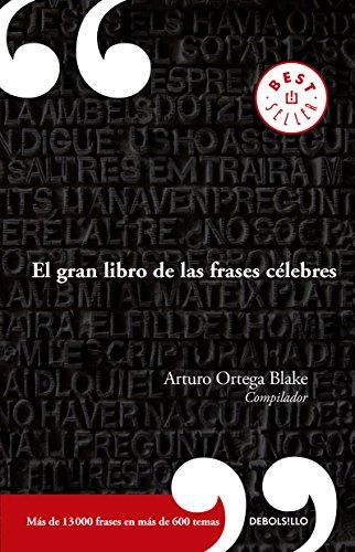 9786073153096: GRAN LIBRO DE LAS FRASES CELEBRES, EL