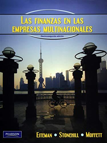 Las Finanzas en las Empresas Multinacionals (12th: Eiteman, David K.;