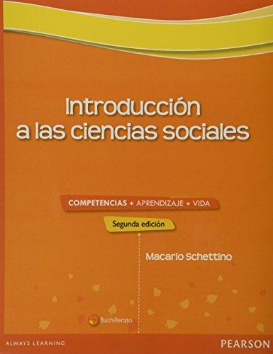 INTRODUCCION A LAS CIENCIAS SOCIALES: SCHETTINO YA?EZ, MACARIO