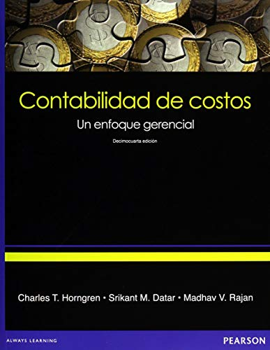 9786073210249: Contabilidad de costos (Spanish Edition)
