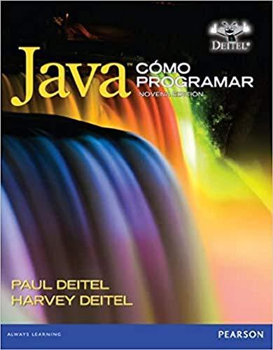 Cómo Programar en Java Novena Edicion (Spanish: Deitel, Paul