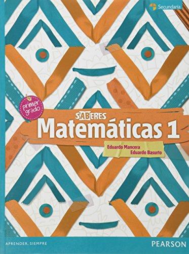 9786073212274: MATEMATICAS 1. SERIE SABERES