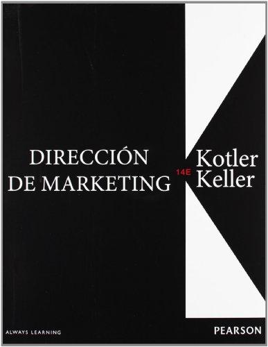 9786073212458: Direccion De Marketing, 14th Edition