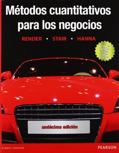 9786073212649: METODOS CUANTITATIVOS PARA LOS NEGOCIOS 11ED