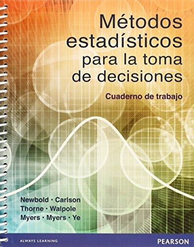 9786073219839: Metodos Estadisticos Para La Toma De Decisiones