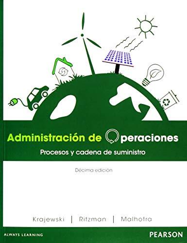 ADMINISTRACION DE OPERACIONES:PROCESOS Y: Agapea