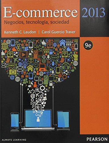 9786073222938: E-COMMERCE 2013 NEGOCIOS, TECNOLOGIA, SOCIEDAD