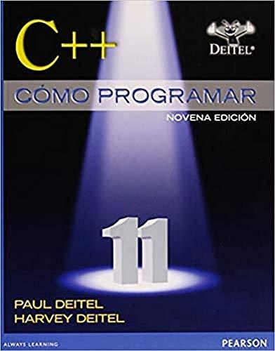 9786073227391: C++ COMO PROGRAMAR / 9 ED.
