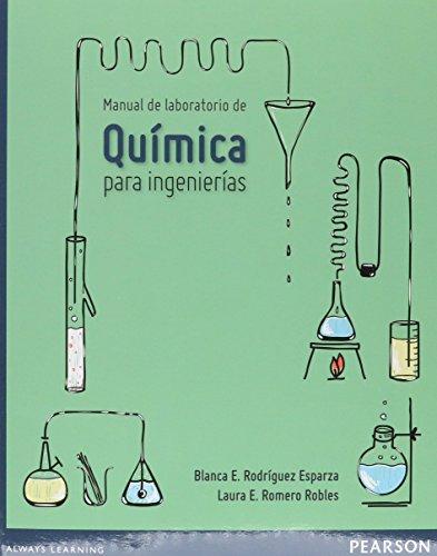 9786073230421: MANUAL DE LABORATORIO DE QUIMICA PARA INGENIERIA