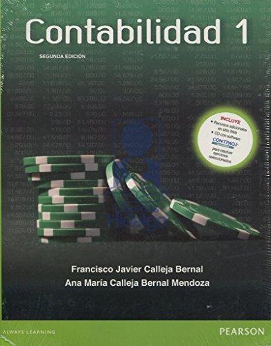 9786073234771: CONTABILIDAD 1 / 2 ED. (INCLUYE RECURSO ADICIONALES EN SITIO WEB + CD)