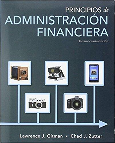 9786073237215: Principios administracion financiera (14ª ediciÓn) [importé d'Espagne]