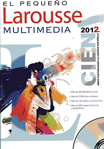 9786074000108: El Pequeno Larousse Multimedia 2012 (Spanish Edition)