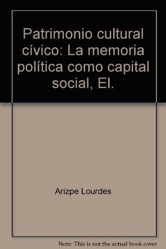 Patrimonio cultural c?vico: La memoria pol?tica como: Arizpe Lourdes