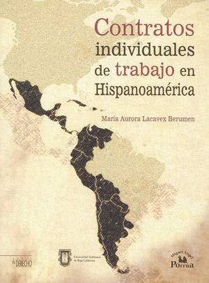 9786074014778: Contratos individuales de trabajo en Hispanoamérica.