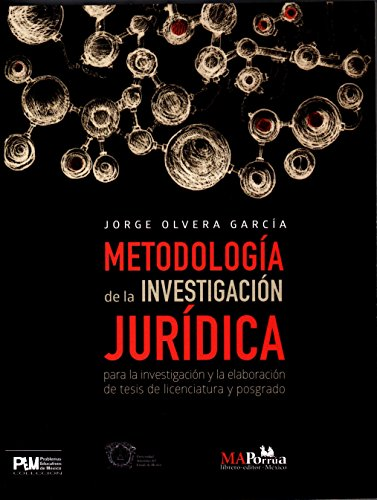 9786074019285: METODOLOGIA DE INVESTIGACION JURIDICA PARA LA INVESTIGACION Y ELABORACION DE TESIS DE LICENCIATURA Y POSGRADO