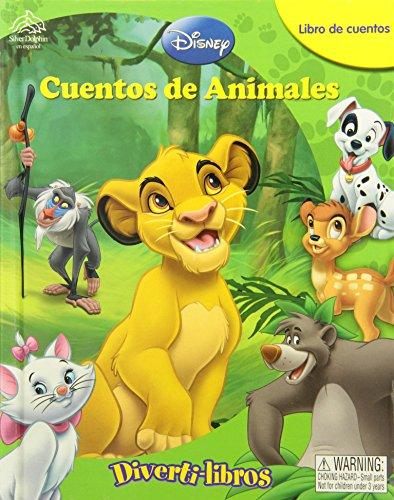 9786074040852: Disney Cuentos de Animales Diverti Libros / Animal Tales My Busy Books (Libros De Cuentos) (Spanish Edition)