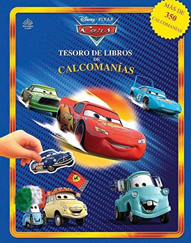 9786074041699: Disney Pixar Cars Tesoro de libros de calcomanias / Disney Pixar Cars Sticker Book Treasury