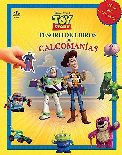 9786074041729: Disney Pixar Toy Story tesoro de libros de calcomanias / Disney Pixar Toy Story Sticker Book Treasury