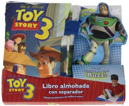 9786074042283: Toy Story 3 Libro almohada con separador/ Storybook Pillow Set (Spanish Edition)