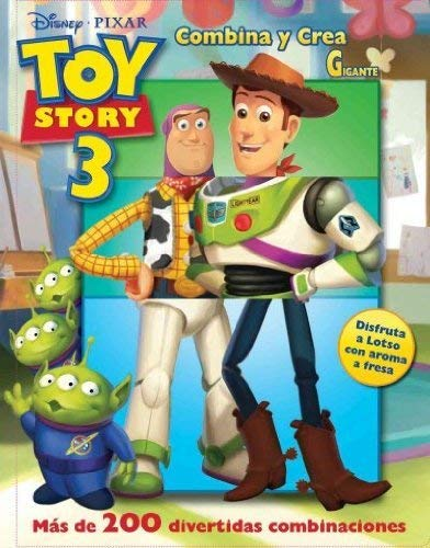 9786074042610: Toy Story 3 combina y crea gigante / Toy Story 3 Mix & Match (Disney Toy Story 3) (Spanish Edition)