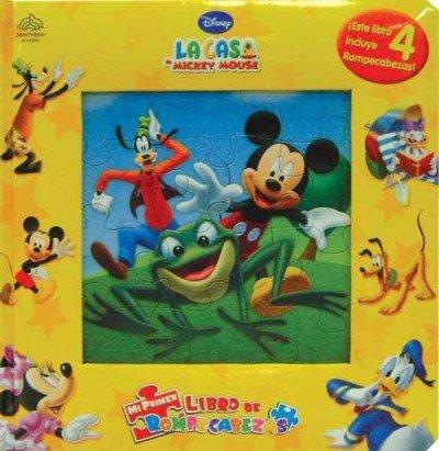 9786074043426: La casa de Mickey Mouse / Mickey Mouse Clubhouse: Mi primer libro de rompecabezas / My First Puzzle Book (Spanish Edition)