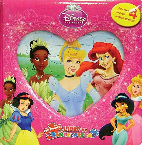 9786074043457: Disney Princesas / Disney Princess (Mi Primer Libro De Rompecabezas / My First Puzzle Book)