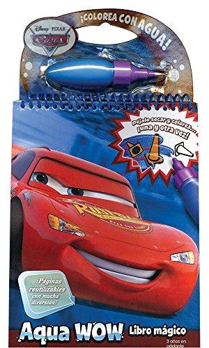 9786074043549: Cars (Aqua Wow. Libro Magico / Aqua Wow. Doodle Book)