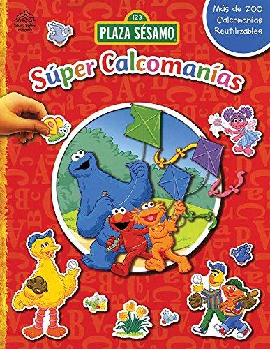 Super calcomanias / 123 Sesame Street Super Sticker Book: Deportes divertidos & Un dia en ...