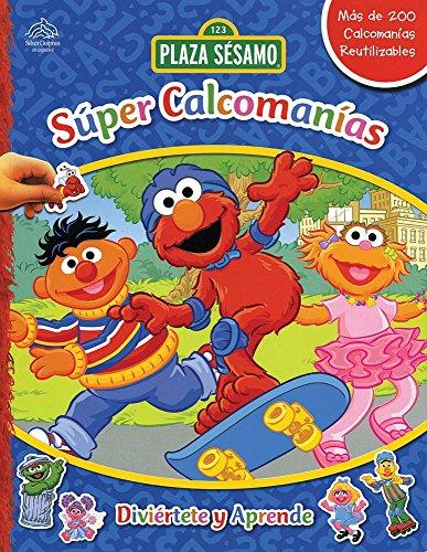 9786074043976: Super calcomanias: Diviertete y aprende / Super Sticker Book: Laugh and learn: El cuidado de la naturaleza & Planeta sano & Mantenerse en forma & ... Sesamo / 123 Sesame Street) (Spanish Edition)