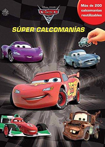 9786074044003: Super calcomanias / Super Sticker Book (Disney Cars 2)