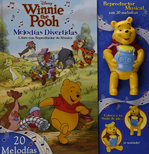 9786074044706: Winnie the Pooh Melodias divertidas / Winnie the Pooh Take-Along Tunes: Libro con reproductor de musica / Book with Music Player (Disney Winnie the Pooh)