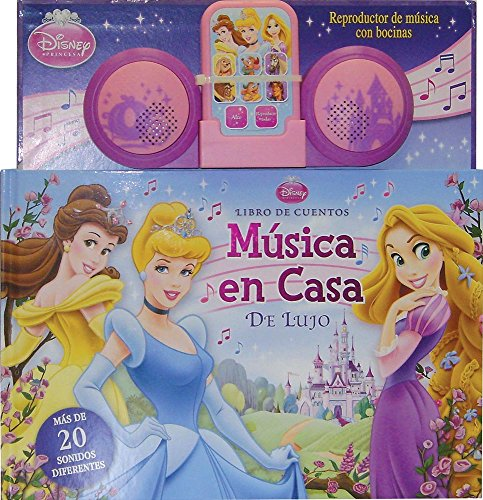 9786074044713: Musica en casa de lujo / Deluxe Princess Music Player: Libro de Cuentos / Storybook (Disney Princesas / Disney Princess) (Spanish Edition)