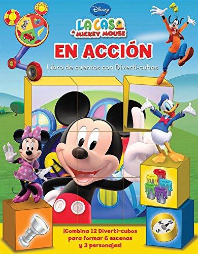 9786074044720: Libros de Cuentos con Diverti-cubos / On the Move: Disney La Casa De Mickey Mouse / Disney Mickey Mouse Club House (Spanish Edition)