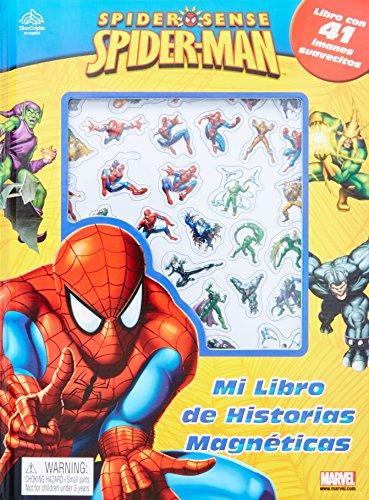 9786074045697: Spider Sense Spider-Man: Mi Libro de Historias Magneticas