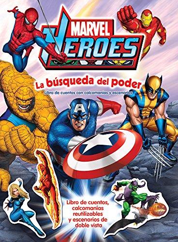 9786074045833: marvel heroes. la busqueda del poder
