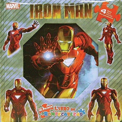 9786074046717: Mi primer libro de rompecabezas: Iron Man
