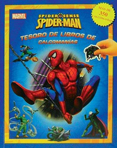 9786074046908: Tesoro De Libros De Calcomanias: Spiderm