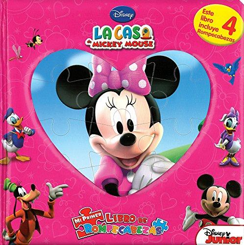 9786074047493: La casa de Mickey Mouse (Mi primer libro de rompecabezas) (Spanish Edition)
