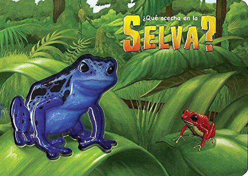 9786074048551: ¿Qué Acecha? Selva / What Lurks in the Jungle