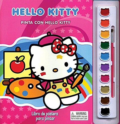 9786074048865: Pinta Con Hello Kitt