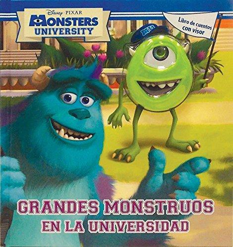 9786074049008: Grandes monstruos en la universidad / Disney Monsters University: Libros de cuentos con visor / Book With Picture Viewer