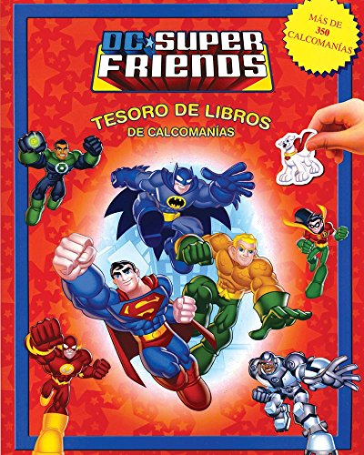 TESORO DE LIBROS DE CALCOMANIAS: WB DC: POULIN, KIM