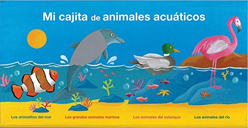 9786074049794: Mi Cajita de Animales Acuáticos / My Box of Aquatic Animals