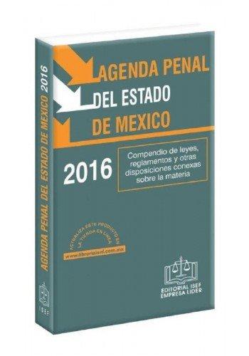 9786074067316: Agenda Penal Del Estado De Mexico 2016