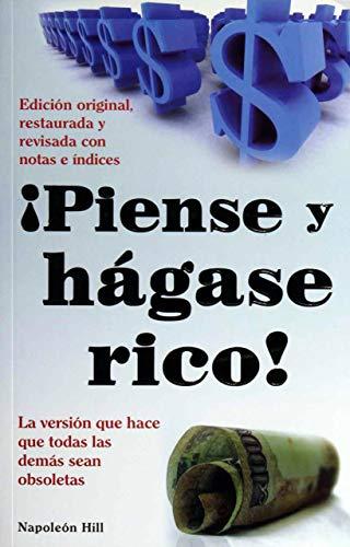 9786074150964: Piense y Hagase Rico! = Think and Grow Rich (Capacitacion y Superacion)