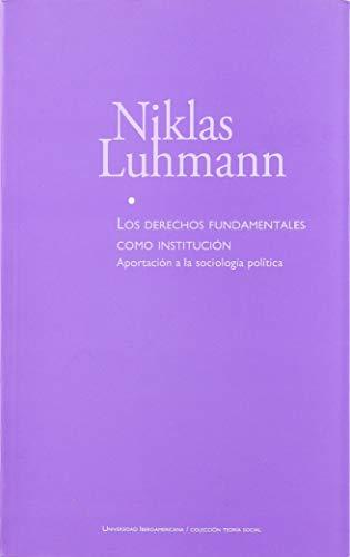 9786074171143: Los derechos fundamentales como institución